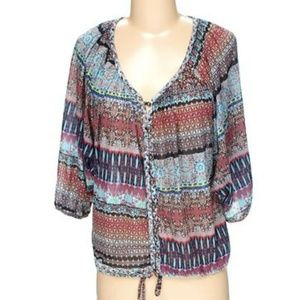 NWT American Rag BOHO style top size small